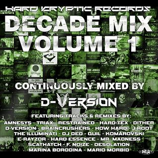 D-Version - Hard Kryptic Records Decade Mix Volume 1